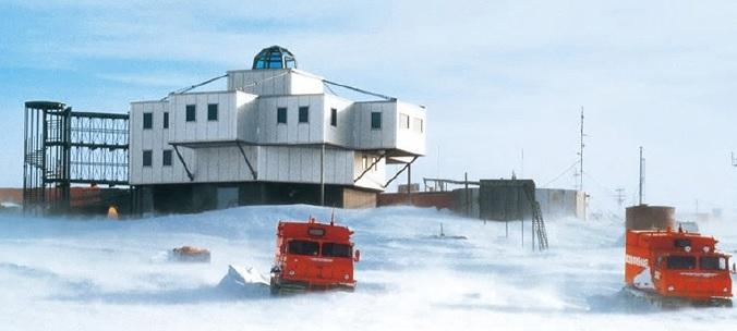 画像:南極×宇宙×ミサワホーム