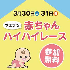 画像:3月30日・31日 赤ちゃんハイハイレース