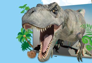 巨大な恐竜