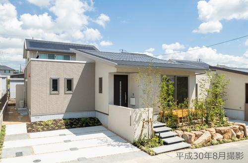 画像:12/1~2 【ヴェルコリーナ山口】4つの平屋の家 分譲住宅フェア